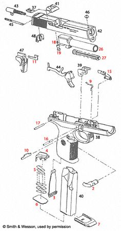 Ak 47 exploded drawing diagram oh the irony ideas for the house smith wesson sigma sw40v schematic schematicloading that magazine is a pain get your ccuart Images