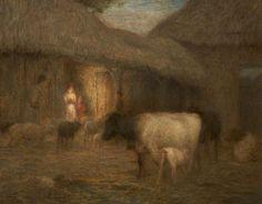 Approaching night, ca 1917, William Edward Stott. (1859 - 1918)