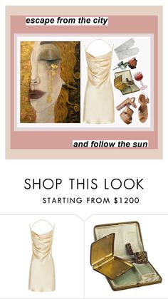"""""""colors"""" by inevitability-1 ❤ liked on Polyvore featuring Yves Saint Laurent, Alexis Bittar, Michael Kors, Forzieri, dress and aesthetic"""
