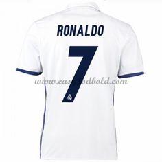 Fodboldtrøjer La Liga Real Madrid 2016-17 Ronaldo 7 Hjemmetrøje