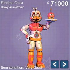 Oh my gosh! Fun time Chica is finally here!