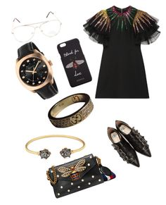 """Untitled #228"" by xheniii ❤ liked on Polyvore featuring Gucci"