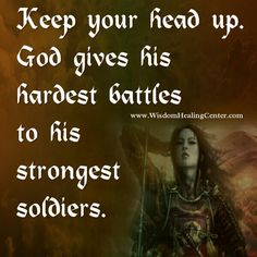 The #life #journey is not always easy. You will often fail but you have to build on #failures. You use it as a stepping #stone. Keep your head up. Take failure as the chance to do better next time. #God takes care to give the hardest battles to those whom he #trusts to.....