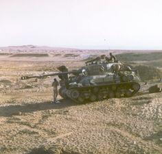 ישרמן,סופר שרמן בשרות חיל השריון          1967 Six Days War Sherman crew in the Jordanian front       IDF last war for the Sherman - Yom Ki...