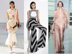 Flared Trousers - How To Wear The Trend For Spring 2015 | Marie Claire