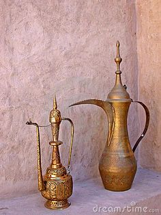 Arabic coffee pot in Dubai, United Arab Emirates