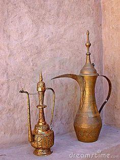 Arabic coffee pot in Dubai, United Arab Emirates