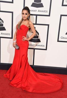 Ariana Grande wearing Romona Kaveza and Giuseppe Zanotti heels