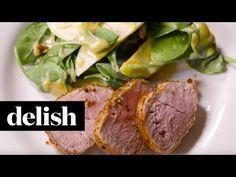 Best Cider-Glazed Pork Tenderloin Recipe - Delish.com
