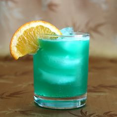 1000 images about twisted drinks on pinterest blue for Orange and blue cocktails