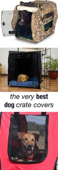 DIY Dog Crate Cover Tutorial- Step by step instructions on how to ...