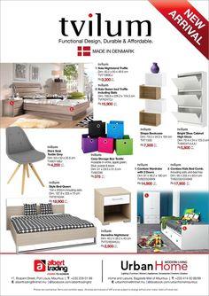 Albert Trading & Urban Home - Tvilum Furniture New Arrival. Tel: 208 0199 / 414 0098