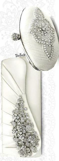 ❇Téa Tosh❇ Stunning Wedding Bags and Bridal Clutch Bag