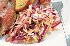 Pineapple coleslaw