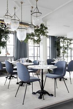 Ресторан в Копенгагене по дизайну GamFratesi
