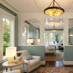 Almost Like Our Living Room Color! Lovve The Light