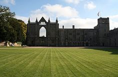 Newstead Abbey, in Nottinghamshire, England, was formerly an Augustinian priory. Converted to a domestic home following the Dissolution of the Monasteries, it is now best known as the ancestral home of Lord Byron.