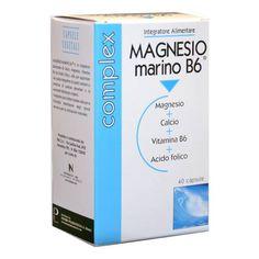 MAGNESIO MARINO B6 40CPS