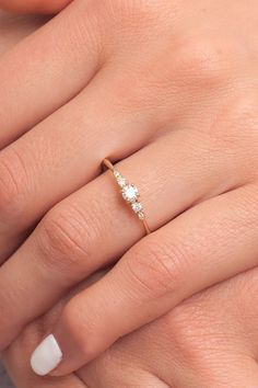 Yellow gold wedding ring with diamonds for her. It is simple unique engagement ring . An engagement ring is very important ring. Stacked Wedding Rings, Wedding Rings Simple, Diamond Wedding Rings, Silver Wedding Rings, Unique Rings, Simple Weddings, Wedding Ring Bands, Cute Promise Rings, Wedding Rings