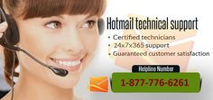 Support? Call Now At Hotmail Technical Support Number 1-877-776-6261 Nothing speaks in today's fast paced digital era than the professional Hotmail Support from a reputed unit. EmailContactHelp techies are capable of swiftly diagnosing and troubleshooting all the problems related to your Hotmail products in a jiffy. We can personalize your Hotmail service by choosing the domain of your own choice so you do not have to shy away from those awkward moments when you cannot interact with your…