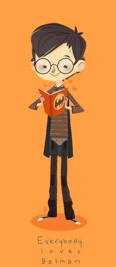 everybody loves batman 0closeup
