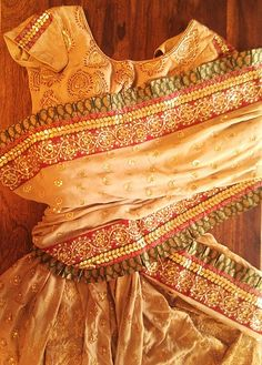 Indian Wedding sari- you'd be the center of attention in this!