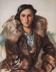 Zinaida Serebriakova - Maria Butakova nee Evreinova