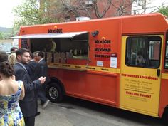 Food truck wedding in Brooklyn NY