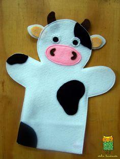 Felt Hand Puppets Animals – Preschool Team Forum Site – We B … - Stofftiere Felt Puppets, Puppets For Kids, Felt Finger Puppets, Puppet Patterns, Felt Patterns, Puppet Crafts, Felt Crafts, Sewing Toys, Sewing Crafts