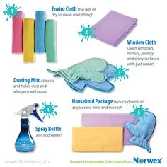 Virtual Party?  Norwex Product Images for Facebook parties and events, Pinterest parties, Skype events and more.