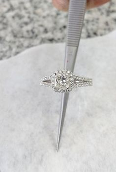 White Gold Engagement Rings That Every Bride Wants See more: #weddings