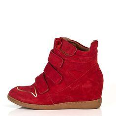 sneakers vermelhos
