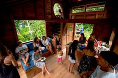 Jay Nelson's tiny house in Hawaii | via The Shelter Blog | hat tip Tiny House Community Jay Nelson is an artist and maker curating his work here on Tumblr: ( jaynelsonart ) You may know Jay from works...