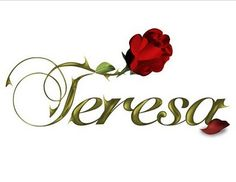 Image detail for -Teresa 2010 — Novelas y Mas Cute Funny Pics, India Images, Embroidery Works, Name Tattoos, Churches Of Christ, Simply Red, Name Design, True Beauty, T 4