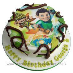Tree Fu Tom Birthday Cake