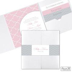 Sweet Scallops Wedding Invitation at MiDesign@Michaels™ Custom Invites