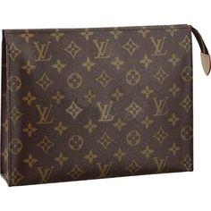 Louis Vuitton Toiletry Bag 26 Monogram Canvas M47542