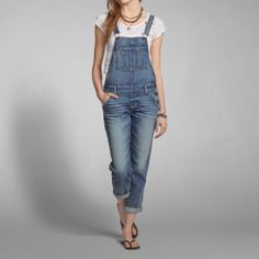 Womens A&F Overalls | Womens Jeans | Abercrombie.com