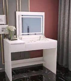Bedroom Furniture Design, Dressing Table Design, Home Room Design, Room Design, Room Inspiration Bedroom, Room Design Bedroom, Room Decor, Dressing Room Design, Dressing Room Decor