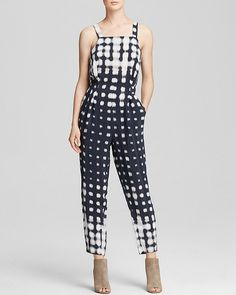 Why Gingham Is This Season's Go-To Print - Spring 2015 - Whistles Jumpsuit