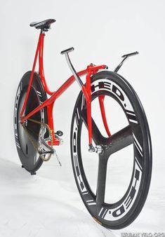 Cherubim concept track bike by Shin-Ichi Konno