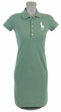 Ralph Lauren Womens Big Pony Polo Shirt Dress ? Shirt Add