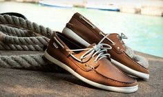 Nautica Men's Boat Shoes $39 @ Groupon - Too slick