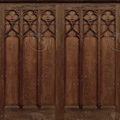 medieval tracery ...
