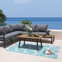 Outdoor Sofa, Outdoor Furniture Sets, Outdoor Decor, Place, Dimensions, Home Decor, Products, Home Decoration, Garden Table And Chairs