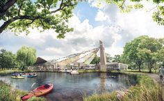 "Gallery of Tate Harmer's ""Big Tent"" Wins Competition for new Museum of Scouting in London - 1"