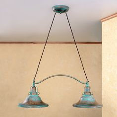Lustrarte Lighting Rustik Charleston 2 Light Shaded Chandelier Finish: Earth