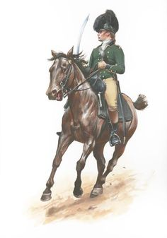 Lt. Colonel Banastre Tarleton, commander of the Revolutionary War era British Legion and arguably the best cavalryman of the war.