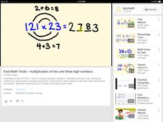 Math trick for multiplying a two digit and a three digit number