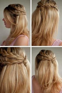 How to Do Simple and Cute Hairstyles
